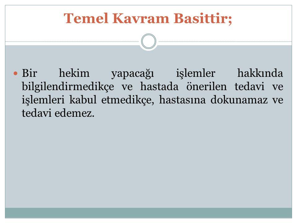 Temel Kavram Basittir;