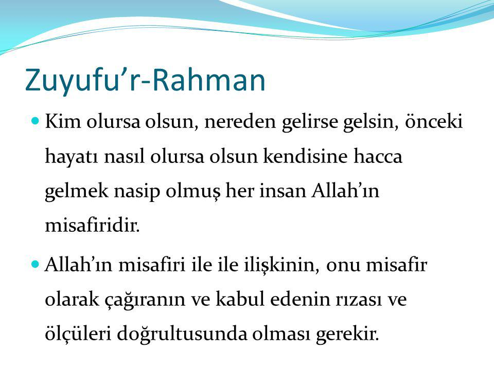 Zuyufu'r-Rahman