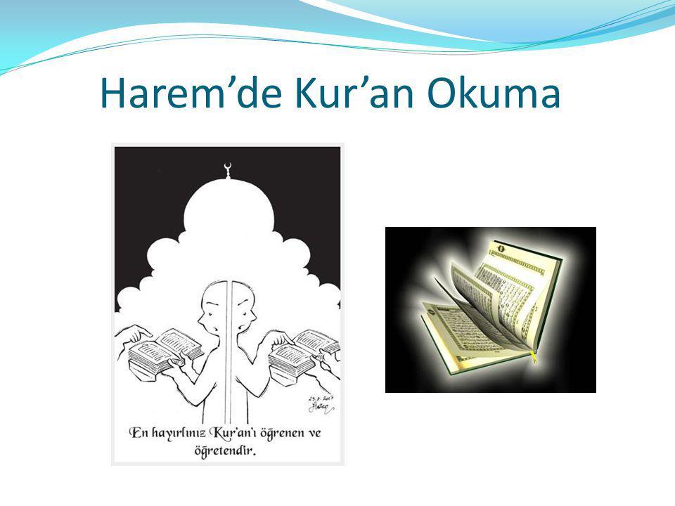 Harem'de Kur'an Okuma