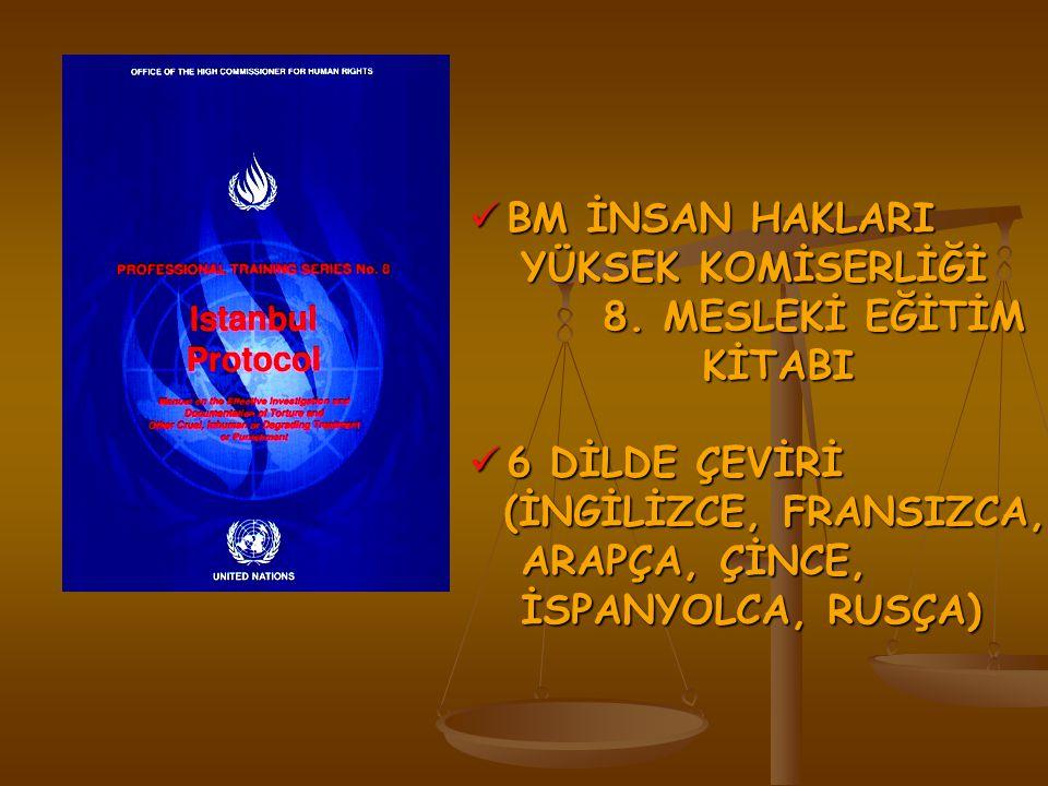 BM İNSAN HAKLARI YÜKSEK KOMİSERLİĞİ. 8. MESLEKİ EĞİTİM KİTABI. 6 DİLDE ÇEVİRİ. (İNGİLİZCE, FRANSIZCA,