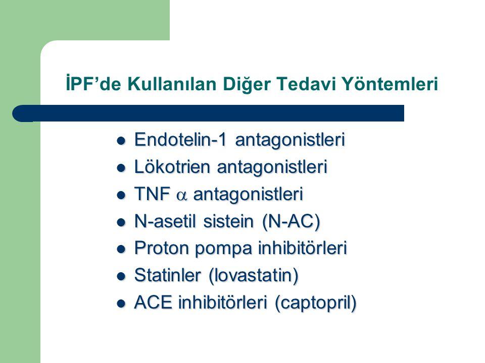 İPF'de Kullanılan Diğer Tedavi Yöntemleri