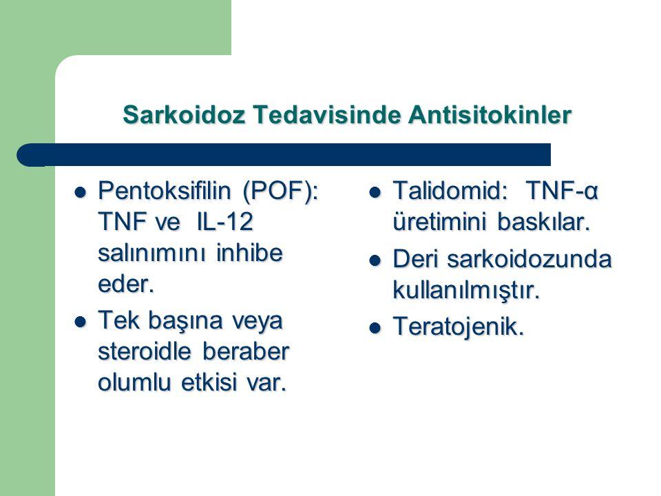 Sarkoidoz Tedavisinde Antisitokinler