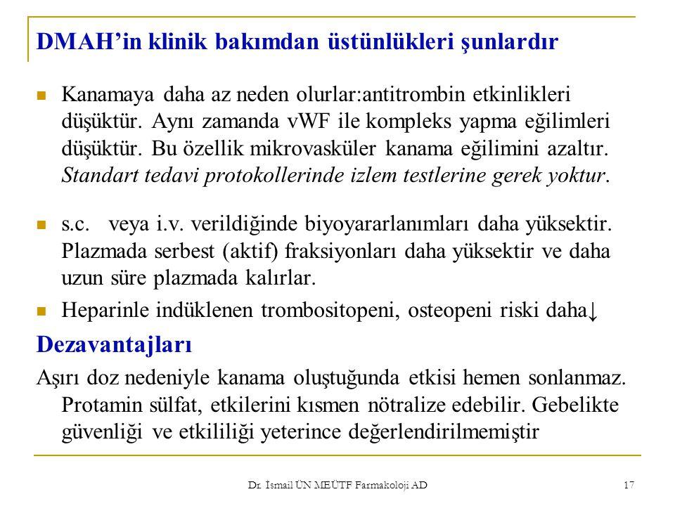Dr. İsmail ÜN MEÜTF Farmakoloji AD