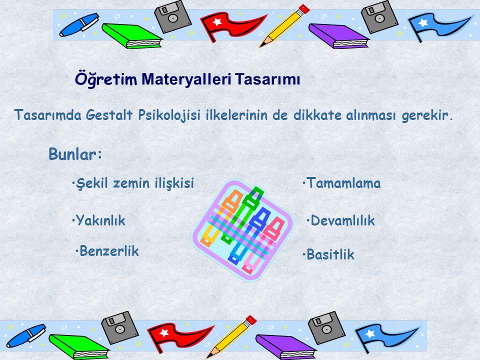 Öğretim Materyalleri Tasarımı