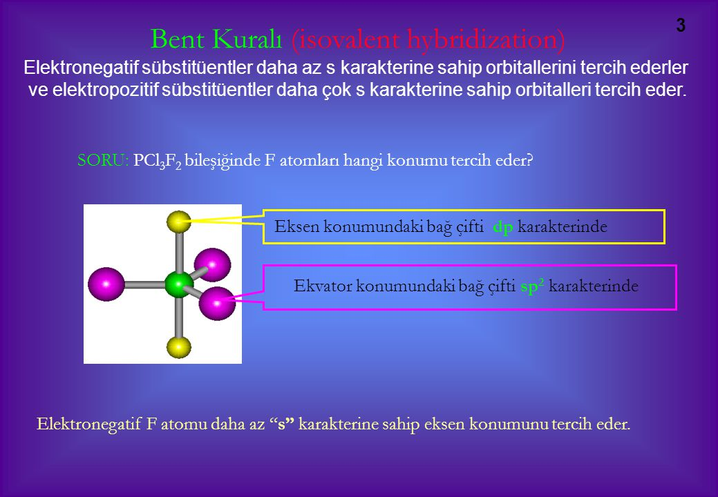 Bent Kuralı (isovalent hybridization)