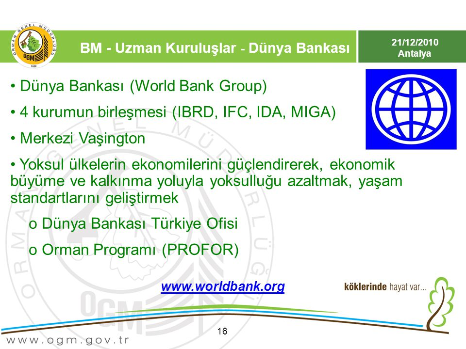 Dünya Bankası (World Bank Group)