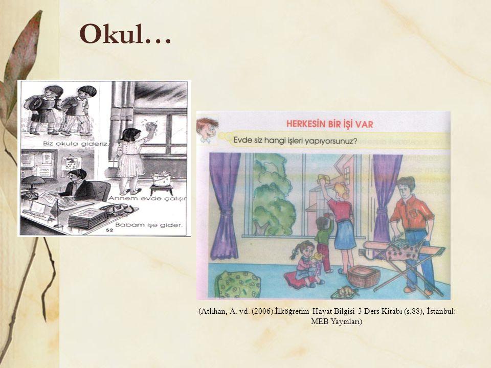 31.10.2011 Okul… (Atlıhan, A. vd. (2006).İlköğretim Hayat Bilgisi 3 Ders Kitabı (s.88), İstanbul: MEB Yayınları)