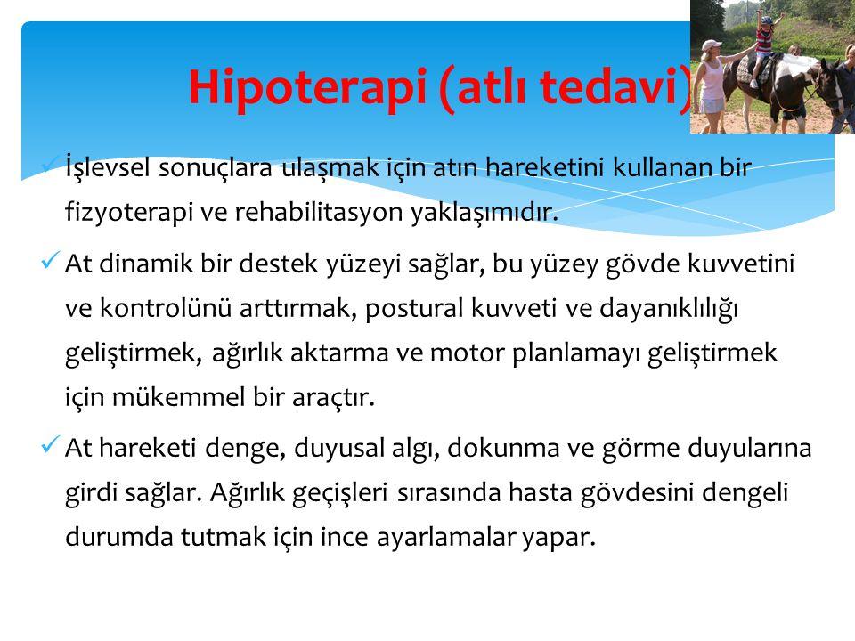 Hipoterapi (atlı tedavi)