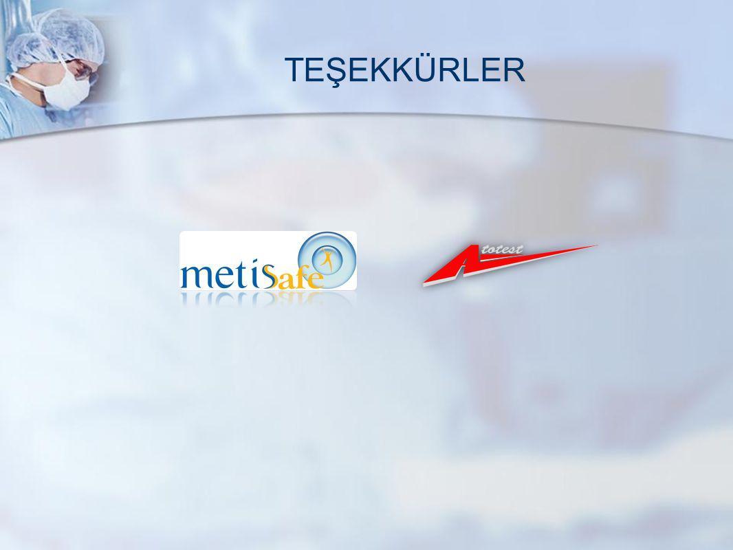 TEŞEKKÜRLER www.metisafe.com