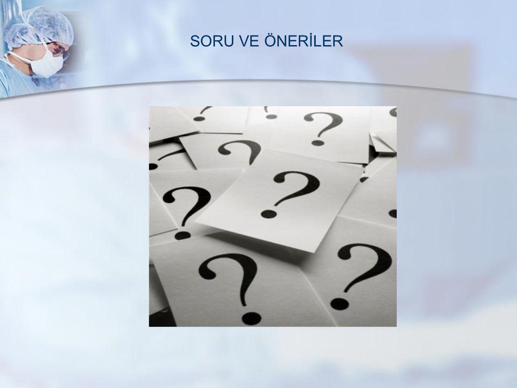 SORU VE ÖNERİLER www.metisafe.com