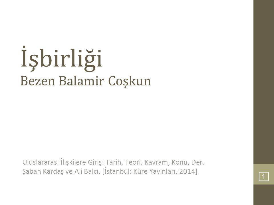 İşbirliği Bezen Balamir Coşkun