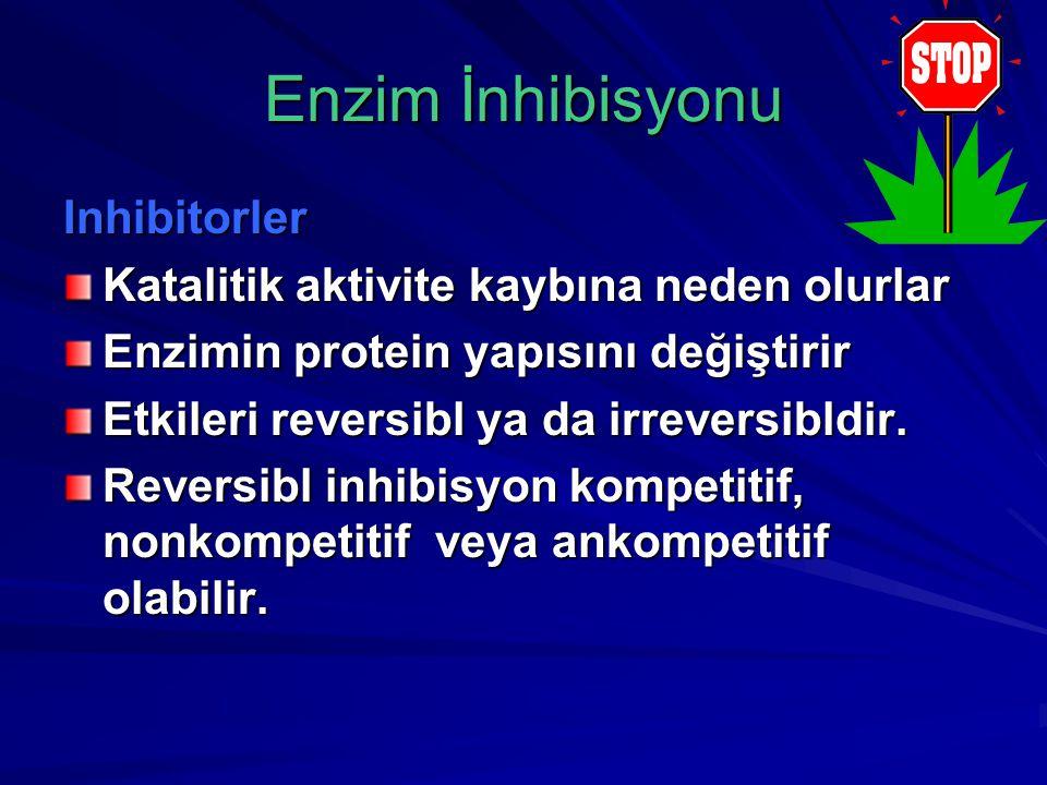 Enzim İnhibisyonu Inhibitorler