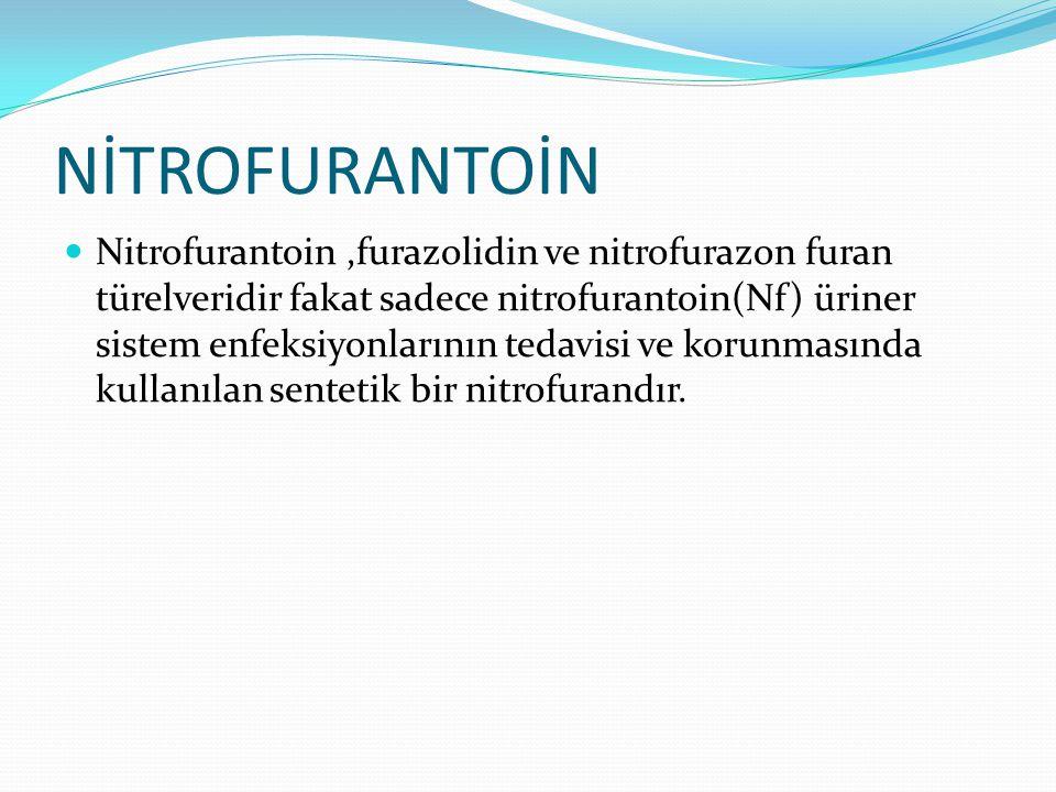 NİTROFURANTOİN
