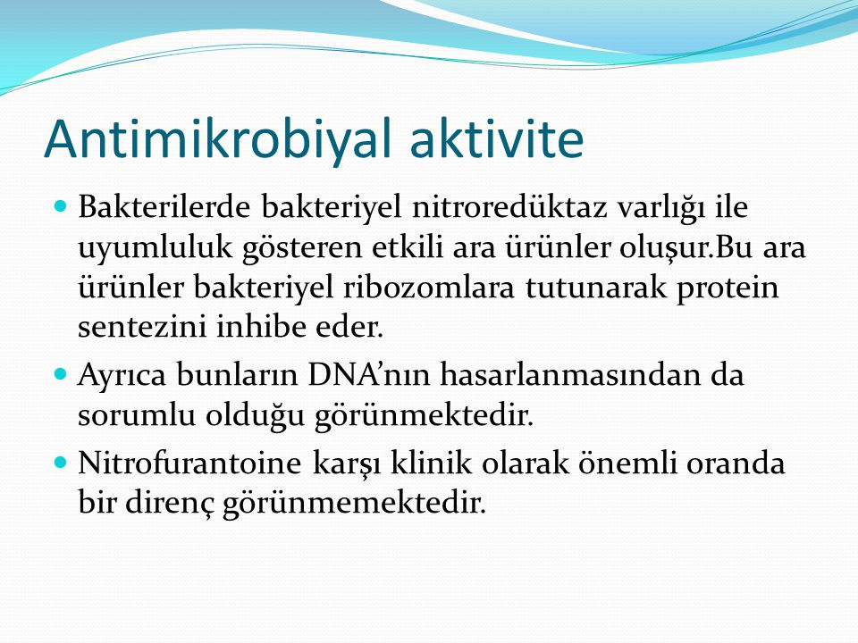 Antimikrobiyal aktivite