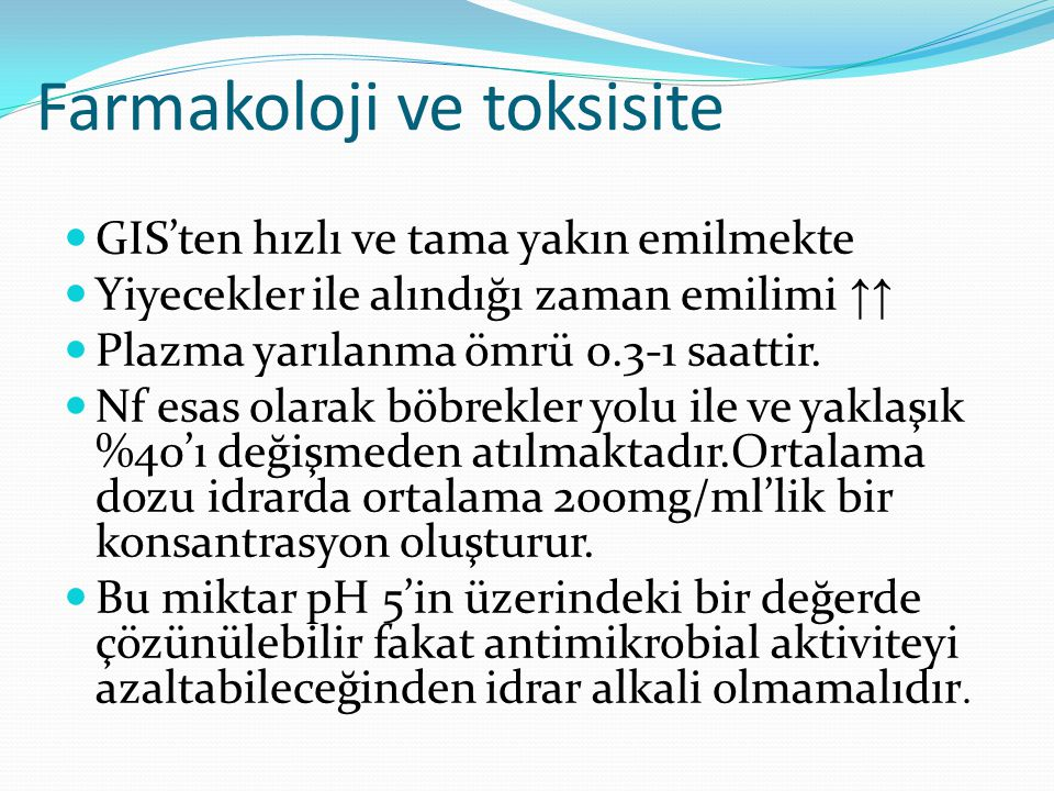 Farmakoloji ve toksisite