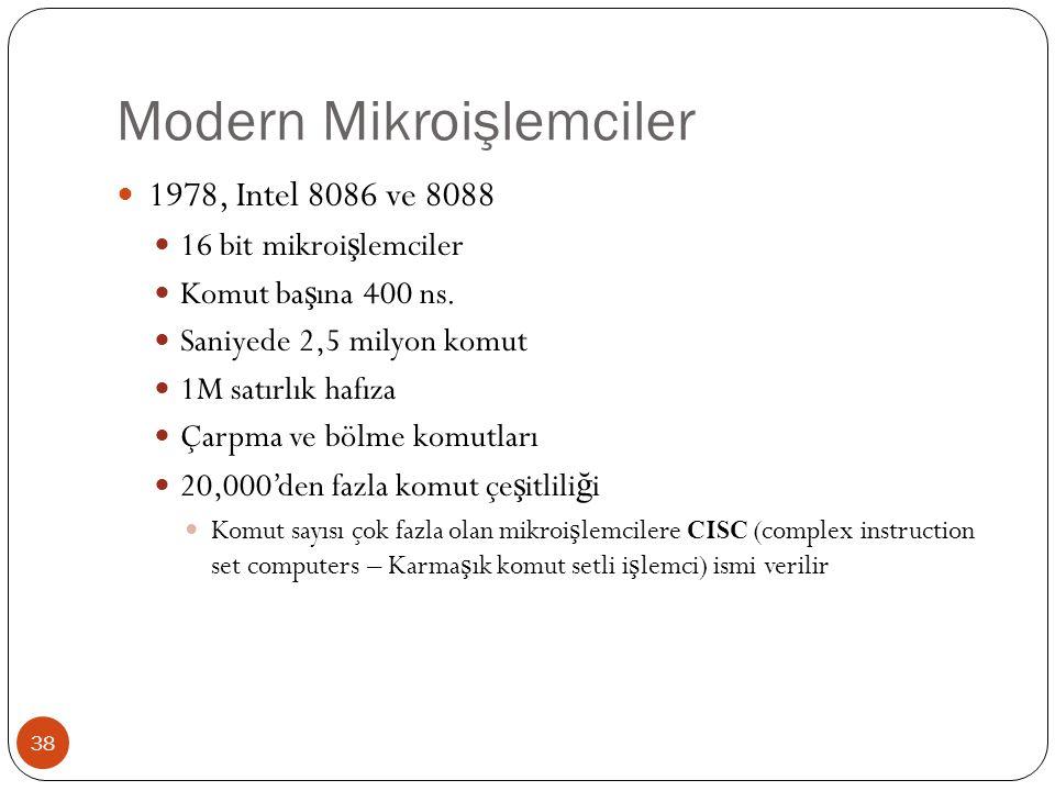 Modern Mikroişlemciler