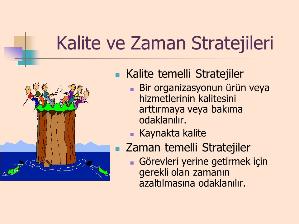 Kalite ve Zaman Stratejileri
