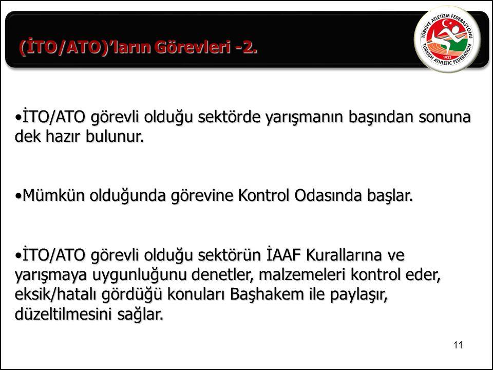 (İTO/ATO)'ların Görevleri -2.