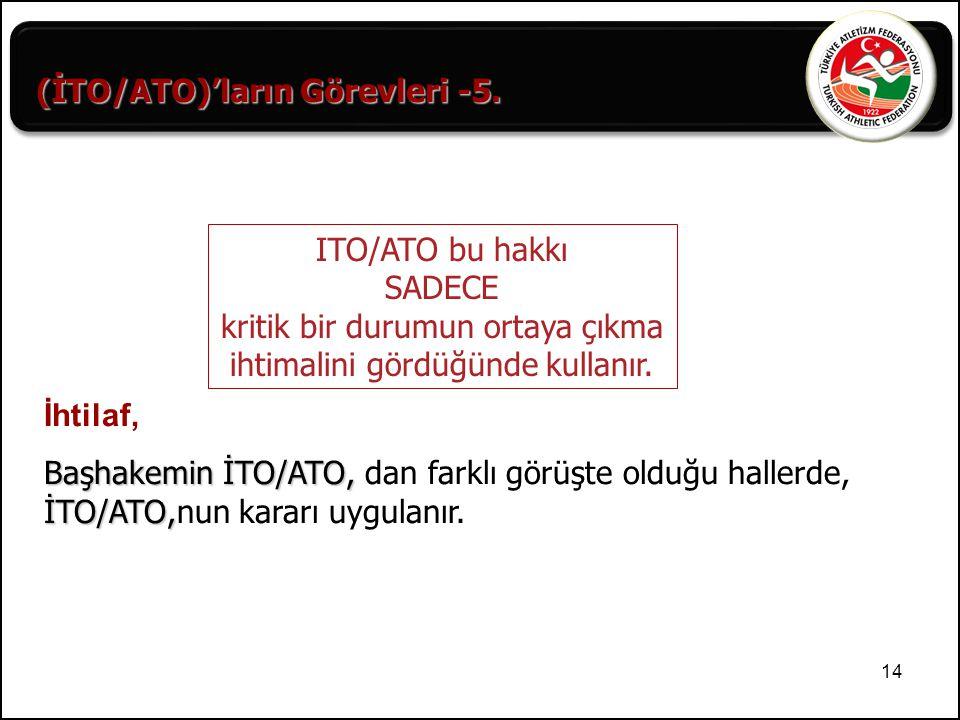(İTO/ATO)'ların Görevleri -5.