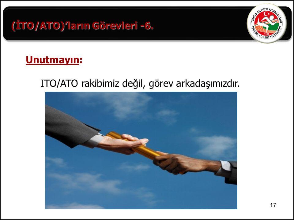 (İTO/ATO)'ların Görevleri -6.