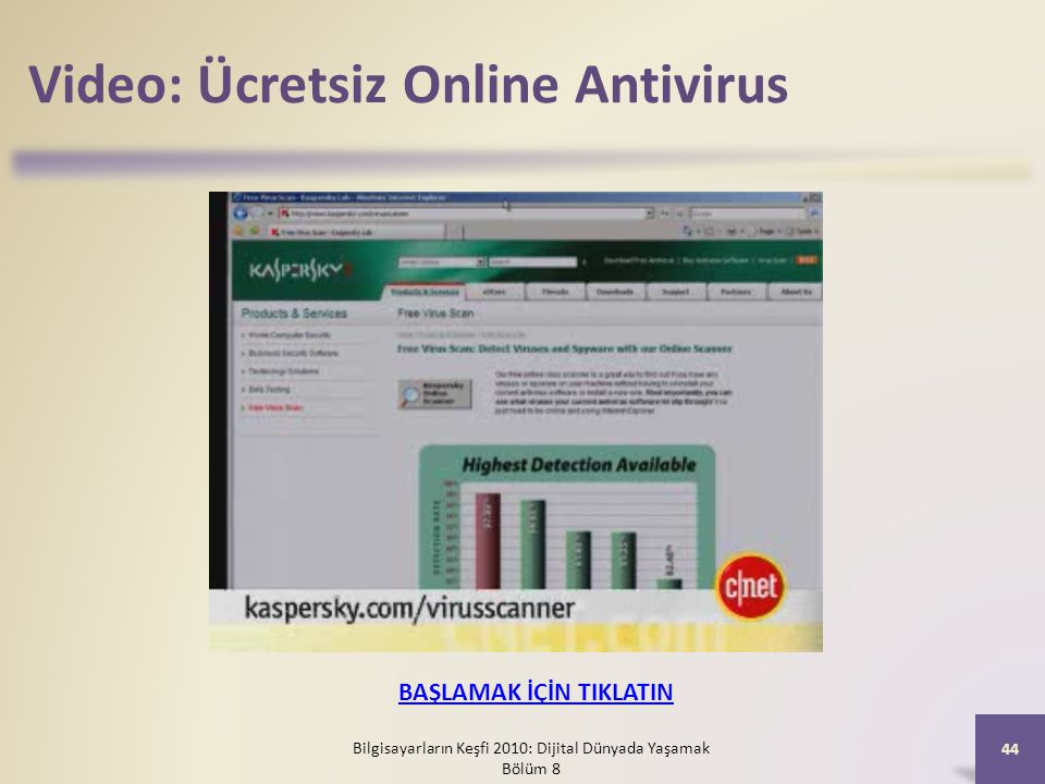 Video: Ücretsiz Online Antivirus