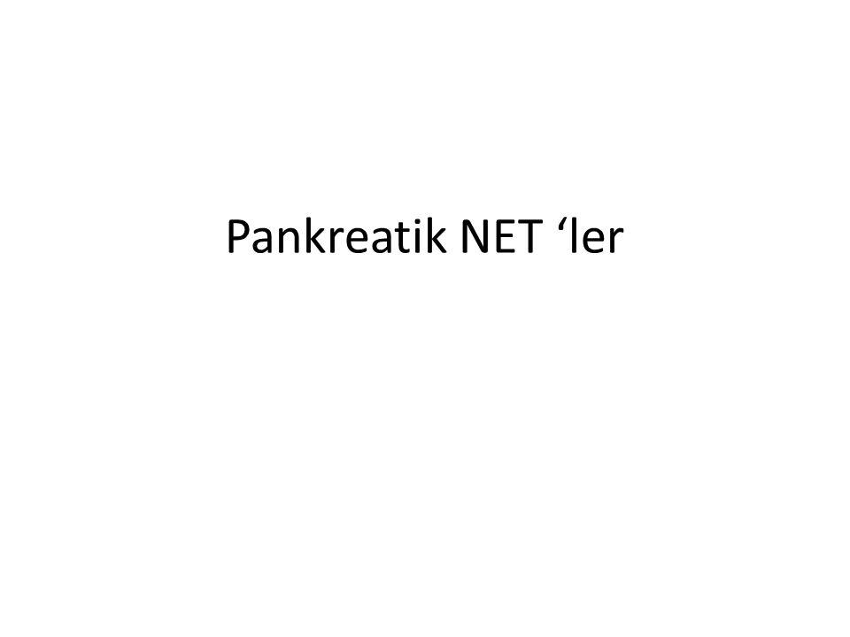 Pankreatik NET 'ler