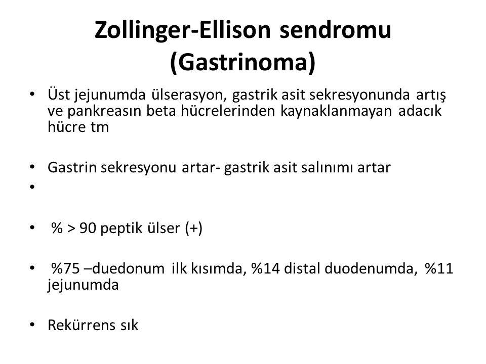 Zollinger-Ellison sendromu (Gastrinoma)
