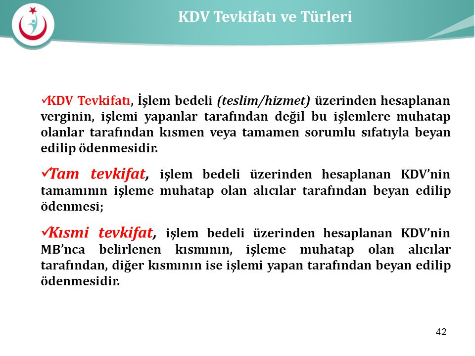 KDV Tevkifatı ve Türleri