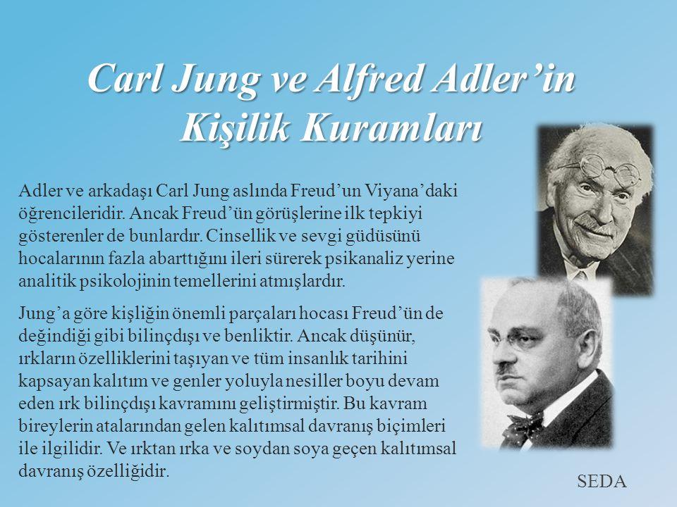 Carl Jung ve Alfred Adler'in Kişilik Kuramları