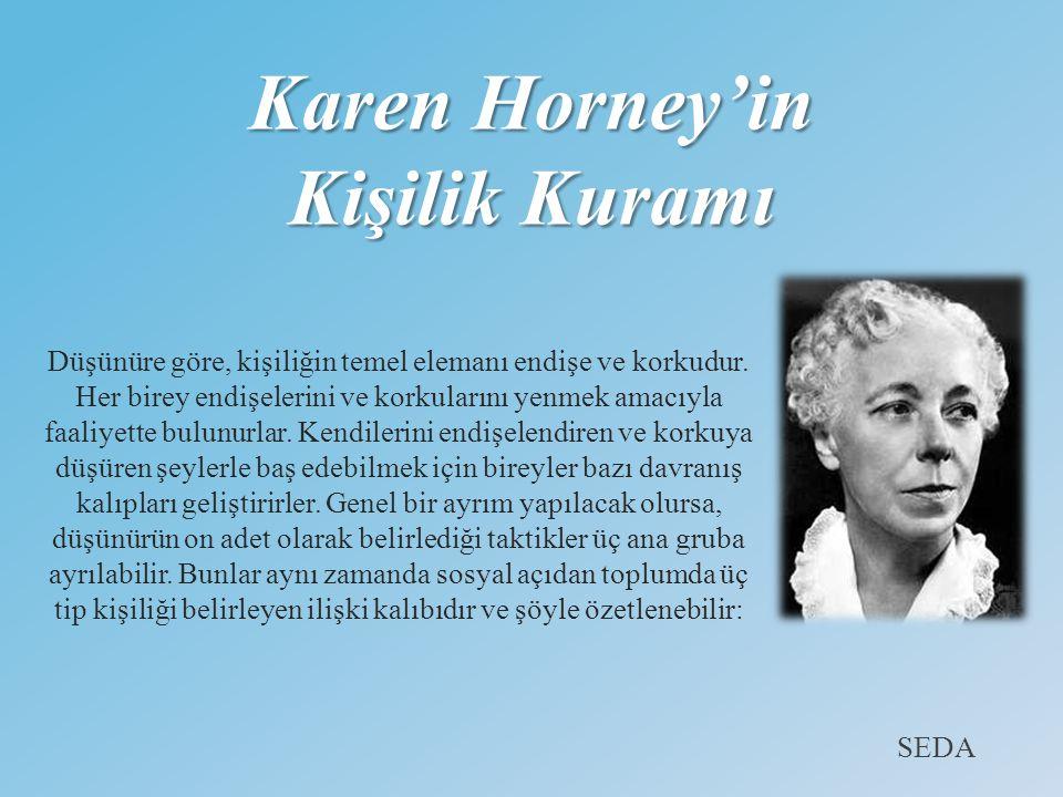 Karen Horney'in Kişilik Kuramı