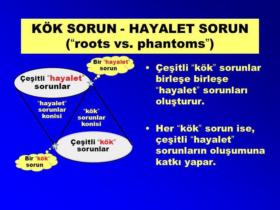 KÖK SORUN - HAYALET SORUN ( roots vs. phantoms )