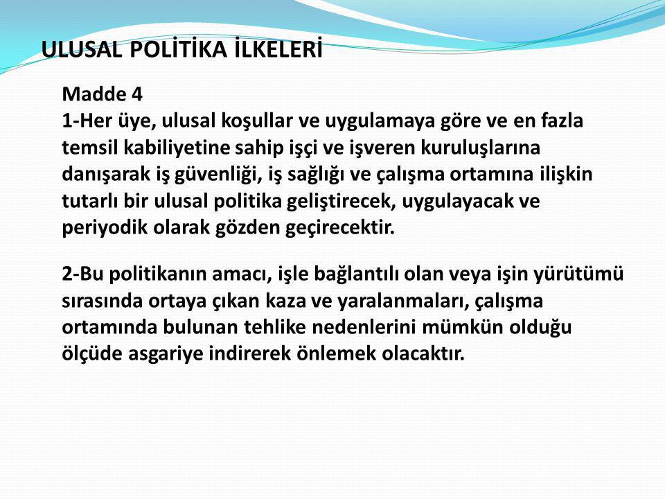 ULUSAL POLİTİKA İLKELERİ
