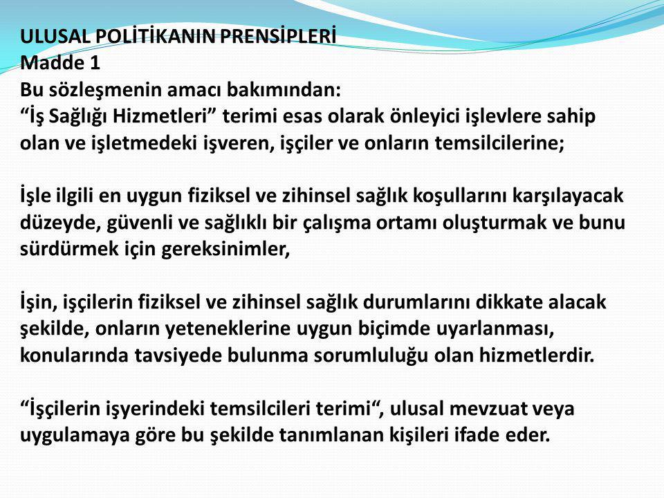 ULUSAL POLİTİKANIN PRENSİPLERİ