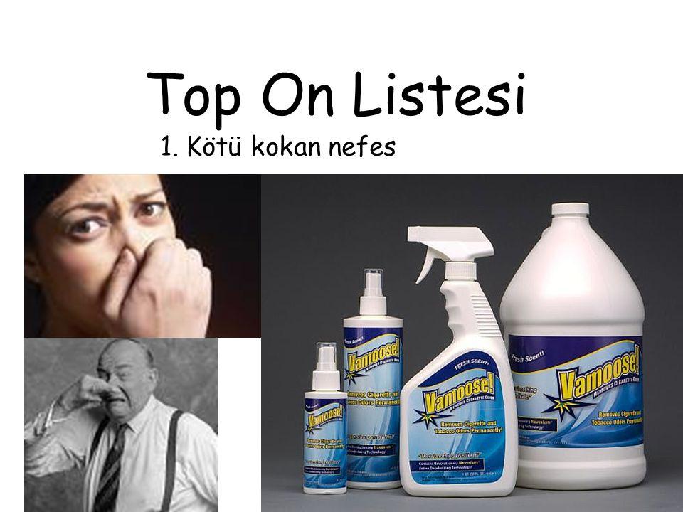 Top On Listesi Kötü kokan nefes