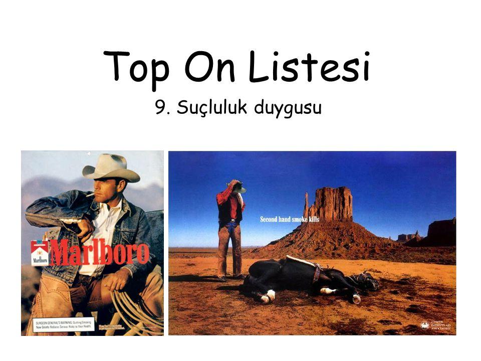 Top On Listesi 9. Suçluluk duygusu