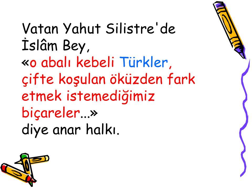 Vatan Yahut Silistre de