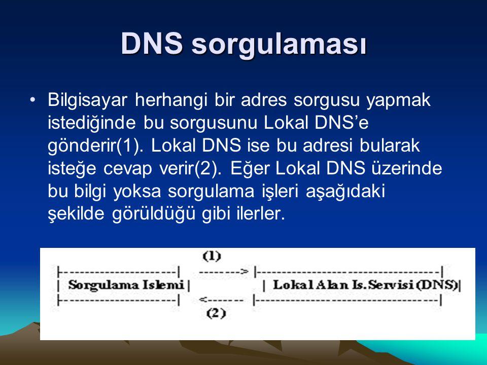 DNS sorgulaması