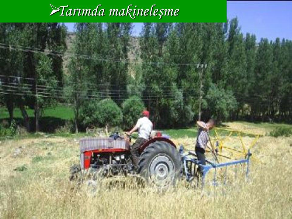 Tarımda makineleşme