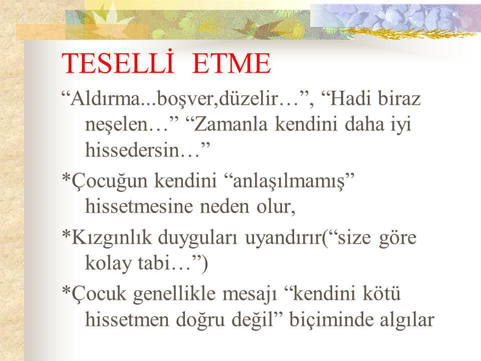 TESELLİ ETME