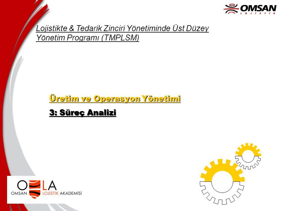 Lojistikte & Tedarik Zinciri Yönetiminde Üst Düzey Yönetim Programı (TMPLSM)