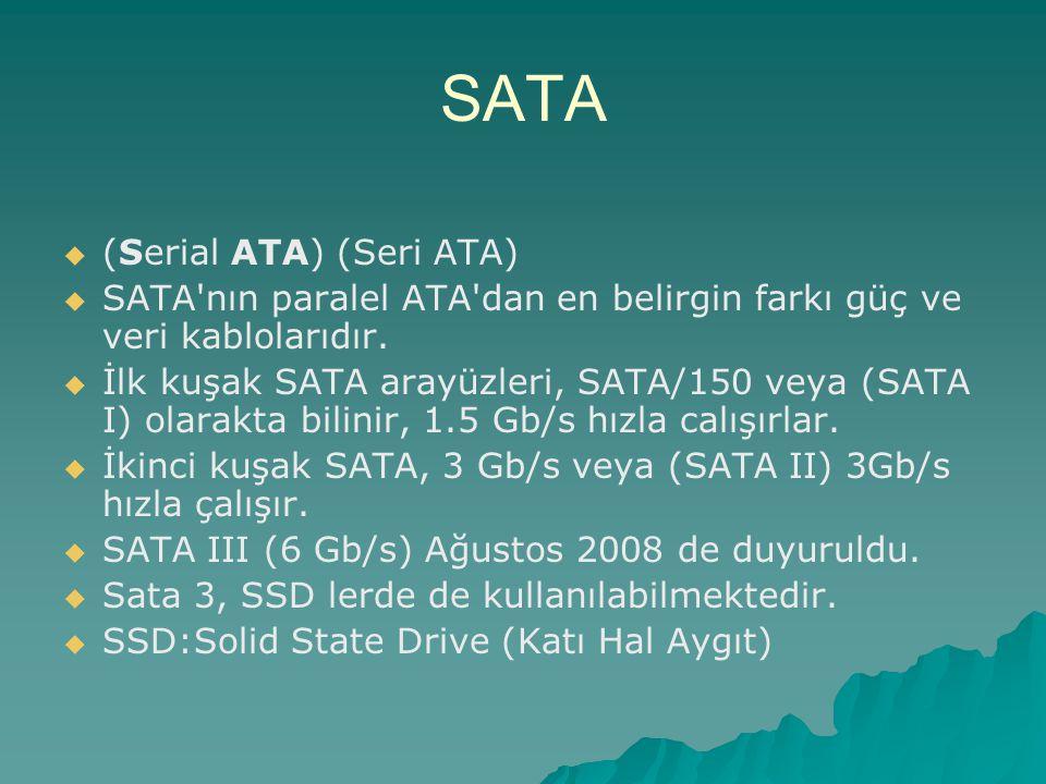 SATA (Serial ATA) (Seri ATA)