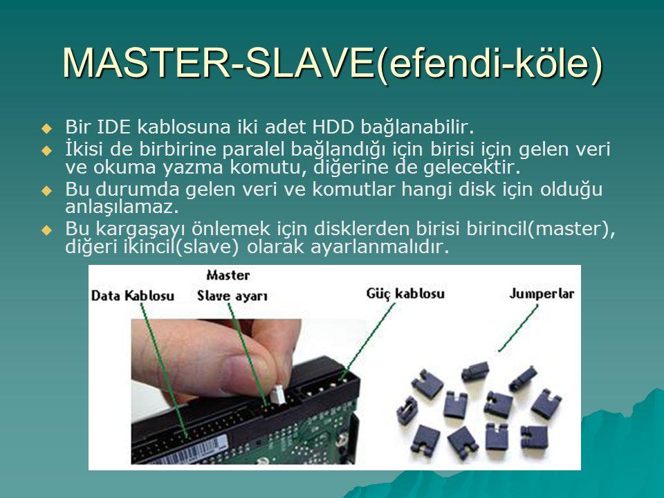 MASTER-SLAVE(efendi-köle)