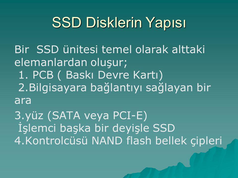 SSD Disklerin Yapısı