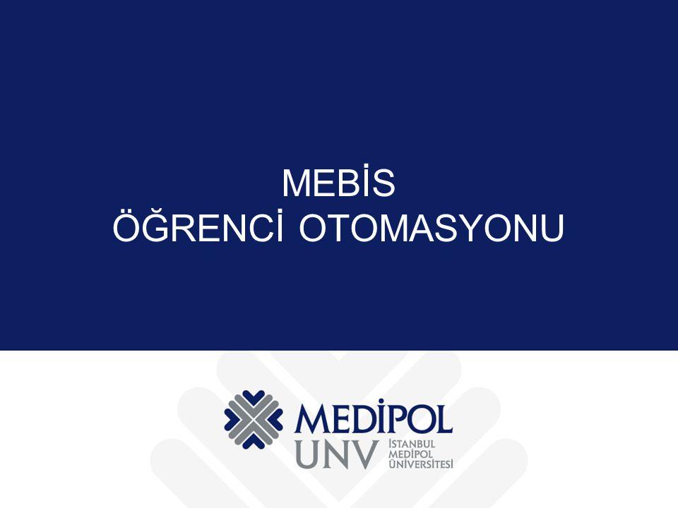 MEBİS ÖĞRENCİ OTOMASYONU