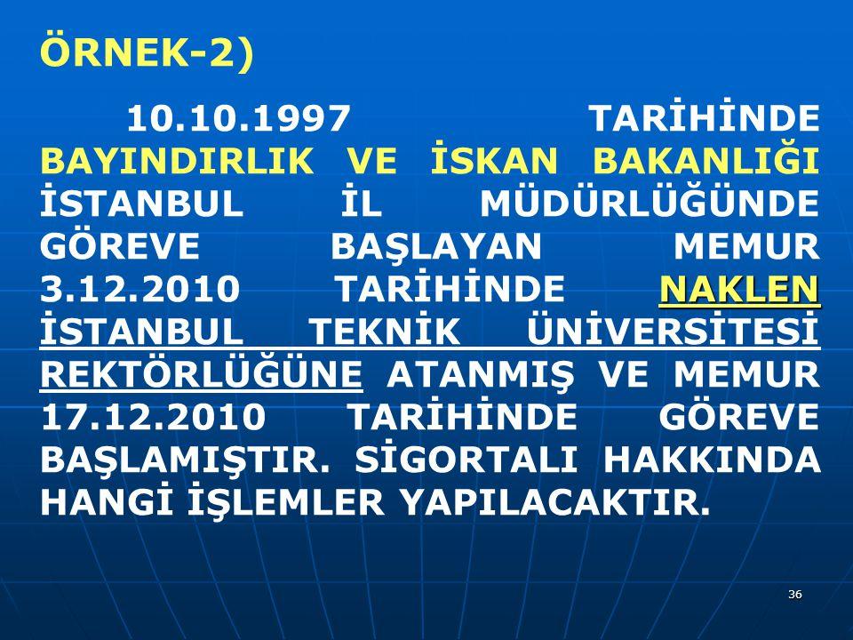 ÖRNEK-2)