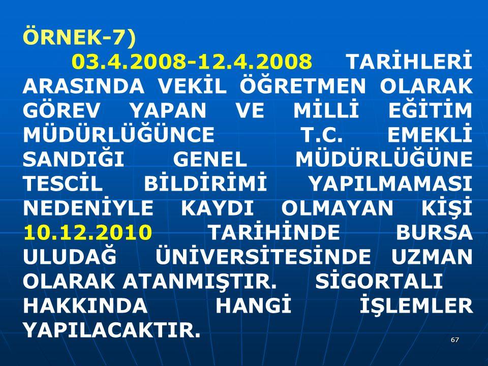 ÖRNEK-7)