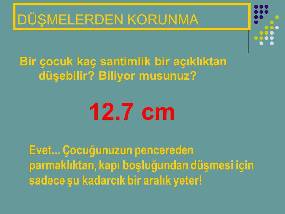12.7 cm DÜŞMELERDEN KORUNMA