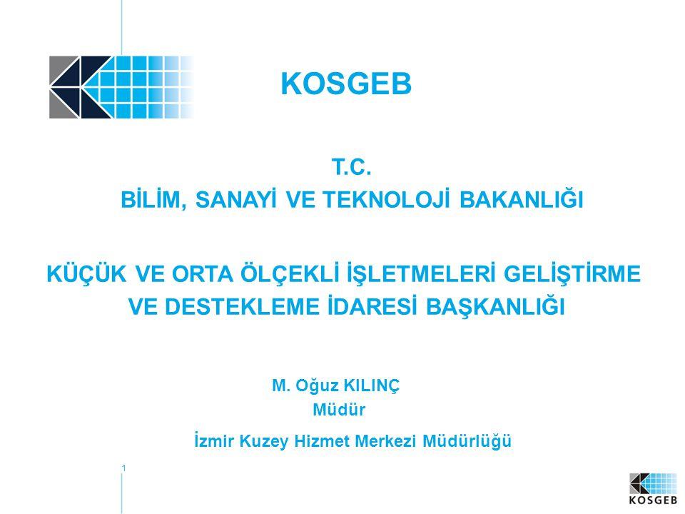 KOSGEB T.C. BİLİM, SANAYİ VE TEKNOLOJİ BAKANLIĞI
