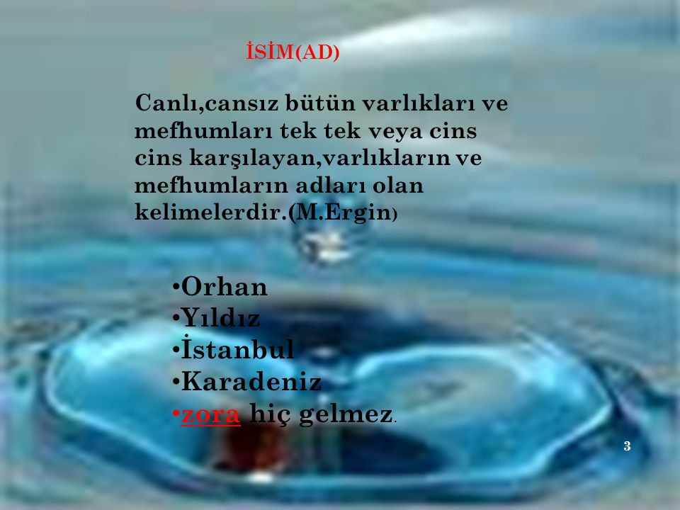Orhan Yıldız İstanbul Karadeniz zora hiç gelmez.