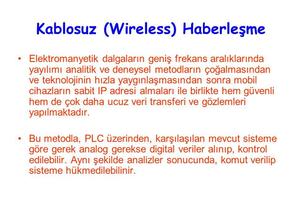 Kablosuz (Wireless) Haberleşme